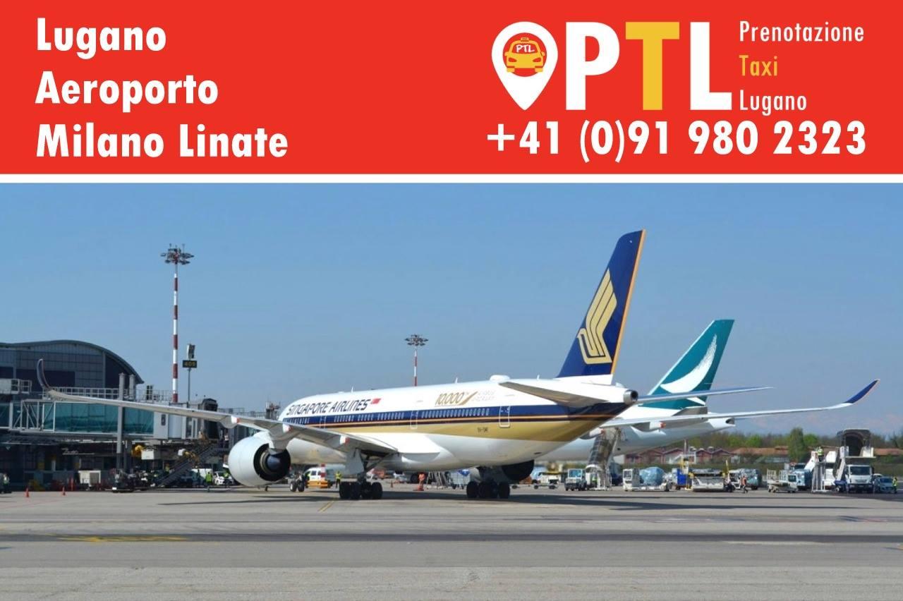 Lugano Aeroport Milano Linate PTL